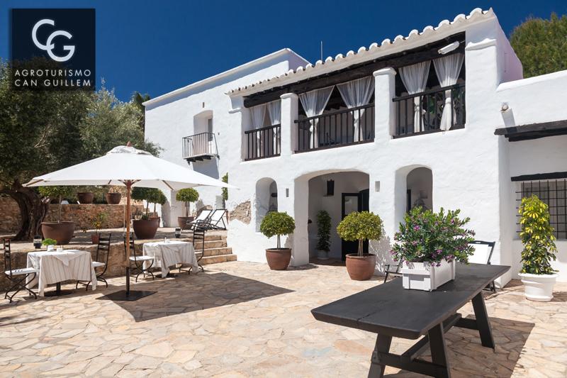 Entrada - Hotel Rural en Ibiza