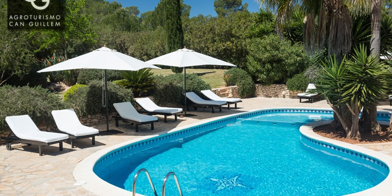 Piscina - Hotel Rural en Ibiza