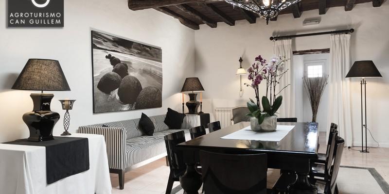 Salón - Hotel Rural en Ibiza