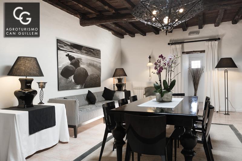 Salon - Hotel Rural en Ibiza